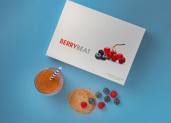 eLEAD - BERRYBEAT, vegan/ plant/ organic anti-oxidant source for high cholesterol peoples - Our Comfy HQ