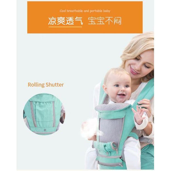 Newborn Baby Carrier, Infant Sling Wrap, Chid Backpack, Toddler Kangaroo Strap - Our Comfy HQ