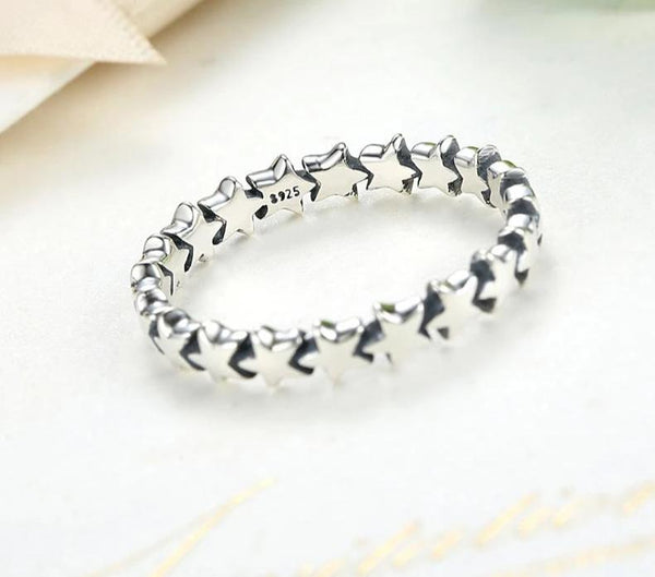 Stackable Finger Ring Women's Wedding Engagement Jewelry Ladies Ring - Our Comfy HQ