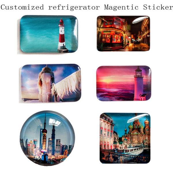 Personalize Fridge Refrigerator Magnets Sticker Custom Home Appliances - Our Comfy HQ
