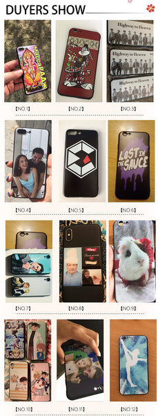 Personalized Design Name Picture Phone Case Customized iPhone Cover - Our Comfy HQ