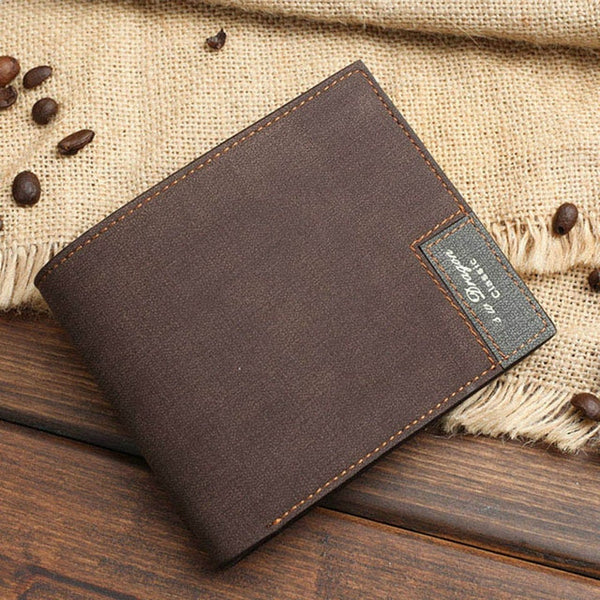 Custom Picture Men's Leather Wallet Fashion Accessories Slim Wallet - Our Comfy HQ