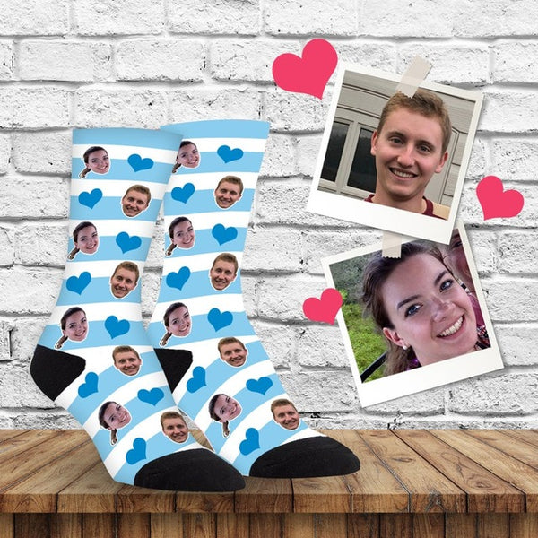 Unique Customized Printed Socks Pet Face Socks Birthday Gift - Our Comfy HQ