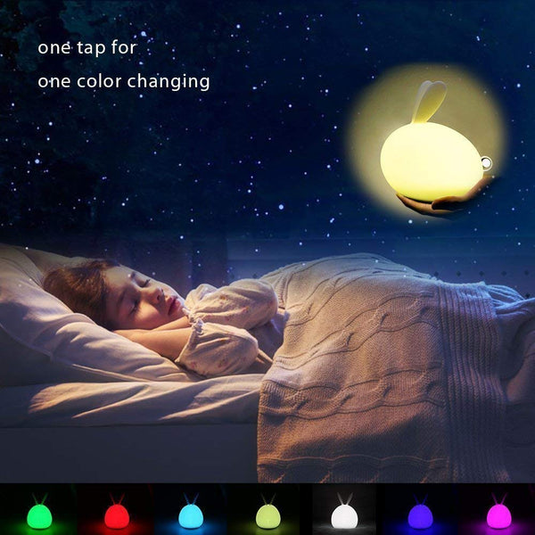 Touch Control USB Led Night Light Lamp Unique Night Lights Xmas Gift - Our Comfy HQ