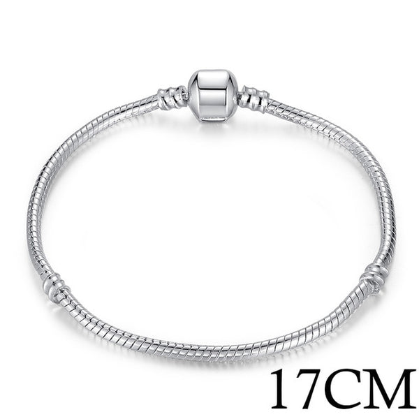 Love Snake Chain Bracelet Bangle Women's Wedding Jewelry Ladies Gift - Our Comfy HQ