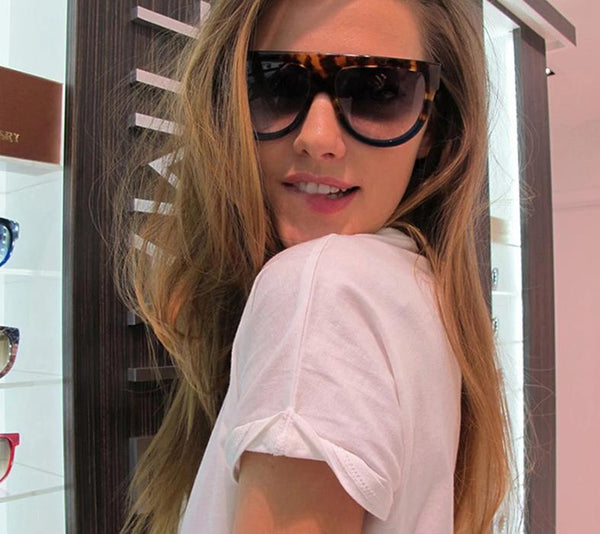 Flat Top Oversized Eyewear Cat Eyes Designer Best Sunglasses for Women - Our Comfy HQ