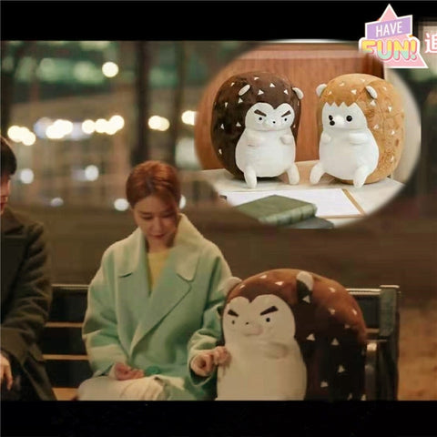 Hedgehog Plush Doll Birthday Toys Touch Your heart Korean Drama Ra Yu - Our Comfy HQ