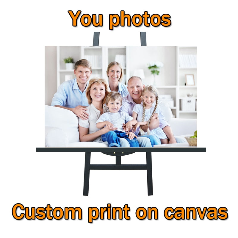 Custom Picture Waterproof Wall Art Painting Wall Posters Wall Decor - Our Comfy HQ