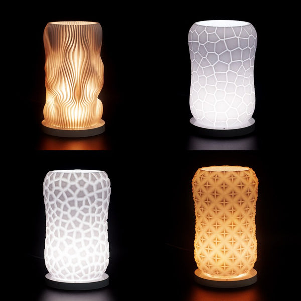 3d Led Night Light Lamp USB Holiday White/Warm Unique Night Lights - Our Comfy HQ