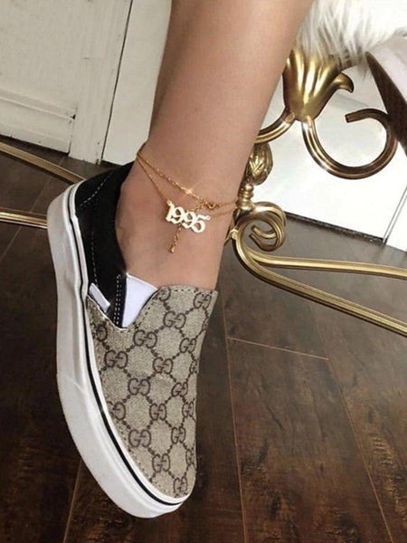 The Old English Year Anklet