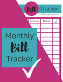Monthly Bill Tracker
