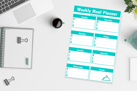 Weekly Meal Planner Printable