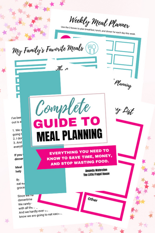 Complete Guide to Meal Planning Binder