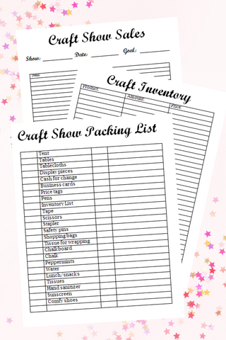 Craft Business Printable Pack