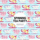 Spinning Tea Party Candle