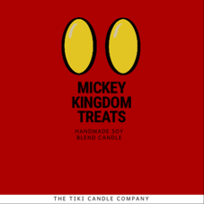 Mickey Kingdom Treats Candle