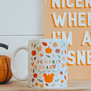 Pumpkin Season 11oz Mug White Only