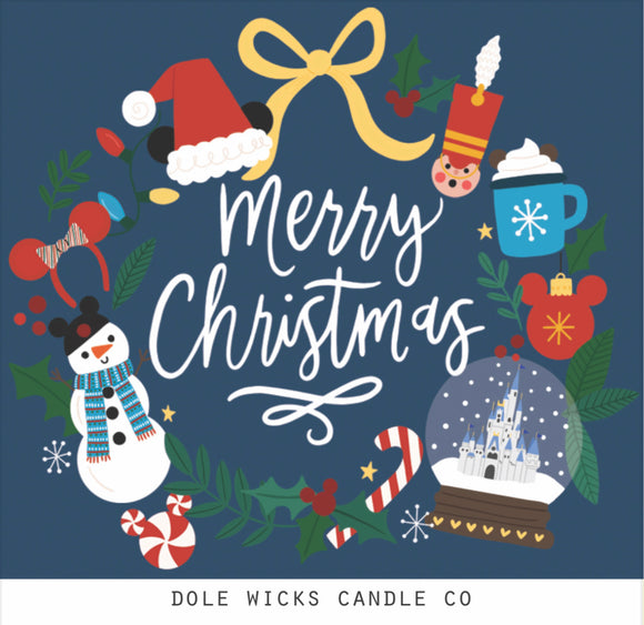 Merry Christmas from Dole Wicks Candle
