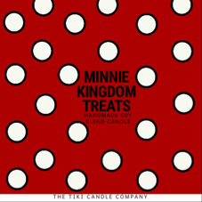 Minnie Kingdom Treats Candle