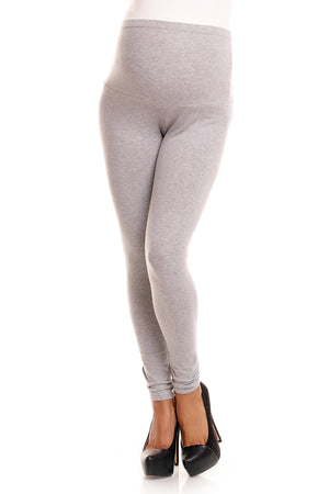 Maternity leggings model 84438 PeeKaBoo