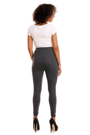 Maternity leggings model 84439 PeeKaBoo