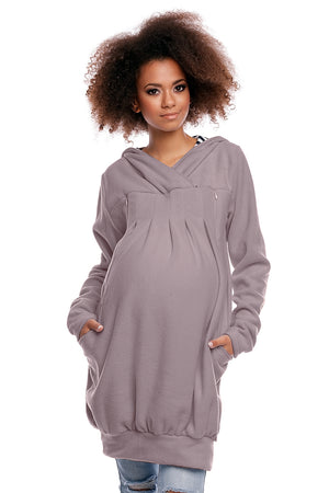 Maternity sweatshirt model 84572 PeeKaBoo