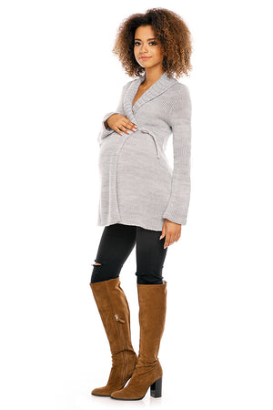 Pregnancy cardigan model 94466 PeeKaBoo