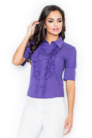Short sleeve shirt model 4473 Figl