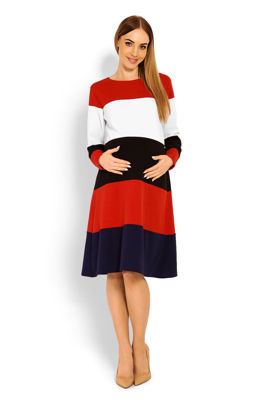Pregnancy dress model 114520 PeeKaBoo