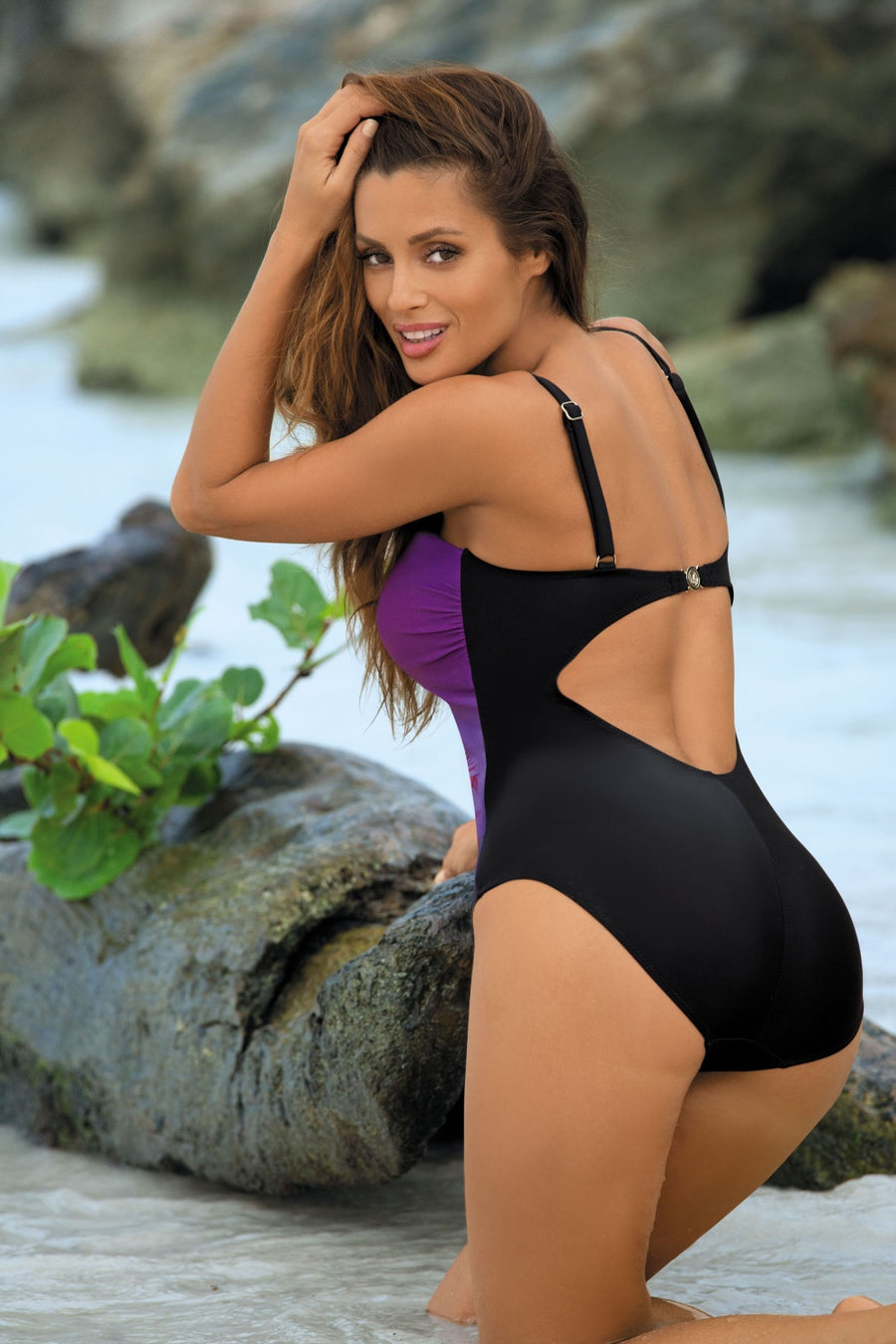 Swimsuit one piece model 80114 Marko
