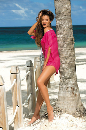 Beach tunic model 56764 Marko