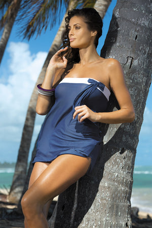 Beach tunic model 30378 Marko