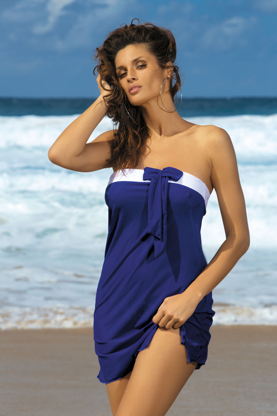 Beach tunic model 30383 Marko