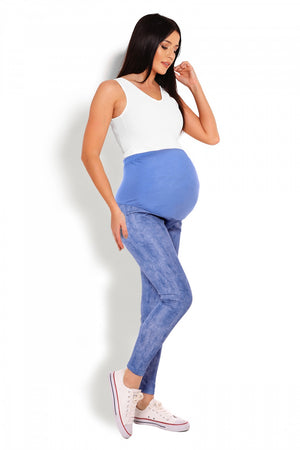 Maternity leggings model 125822 PeeKaBoo