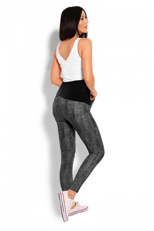 Maternity leggings model 125823 PeeKaBoo