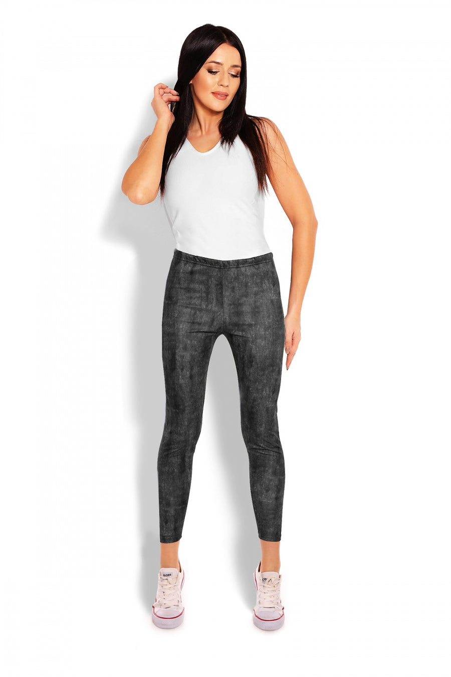 Long leggings model 125824 PeeKaBoo