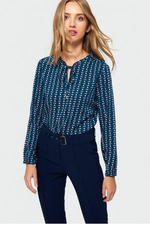 Blouse model 135620 Greenpoint
