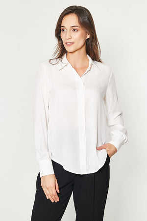 Long sleeve shirt model 150178 Click Fashion