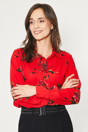 Long sleeve shirt model 150198 Click Fashion