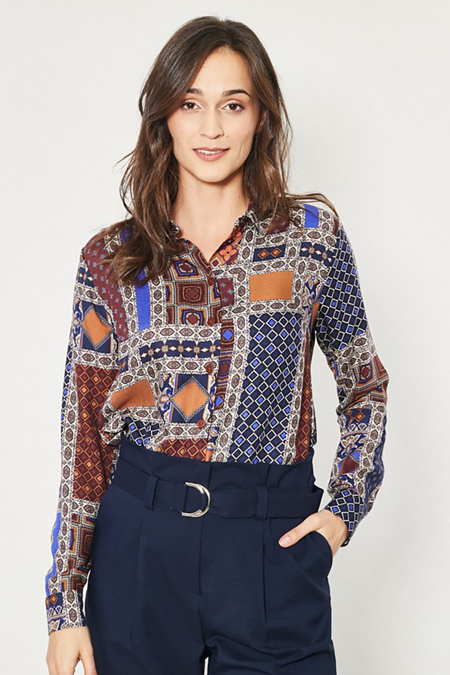 Long sleeve shirt model 150200 Click Fashion
