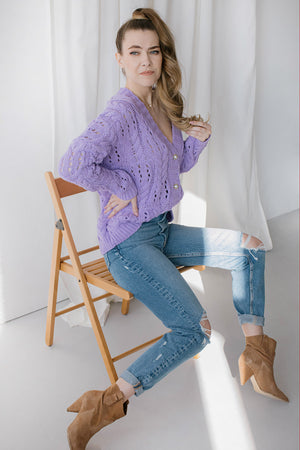 Cardigan model 152566 Lemoniade