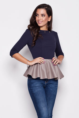 Blouse model 44062 Katrus