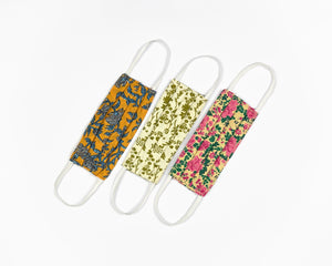 3 Ply Reusable Masks - Pack of 3 (Floral)