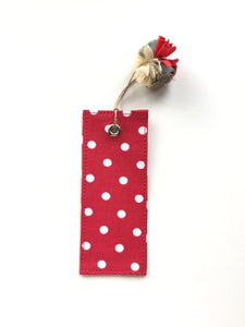 Printed Bookmark- Polka Dot