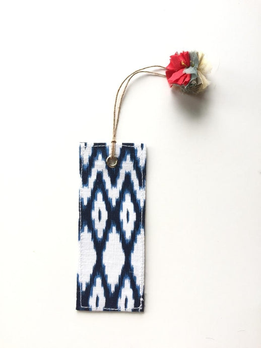 Printed Bookmark- Aztec print