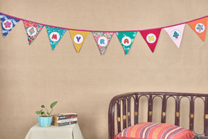 Customisable Name Bunting- Girl