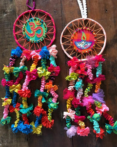 'Om Diya' Dream Catcher (Set of 2)