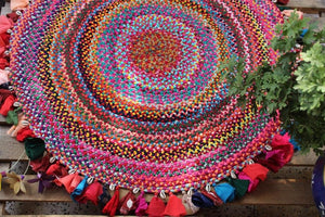 Braid Me Up' Handmade Rug