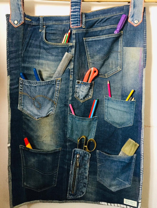 Dashing Denim Organiser