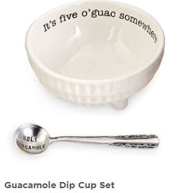 Mud Pie Guacamole Dip Bowl Set Great Gift Idea